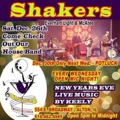 Shakers 12-26-15