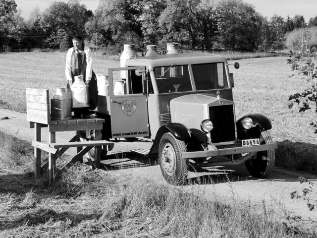 Молоковоз Scania-Vabis 3256. 1928 год