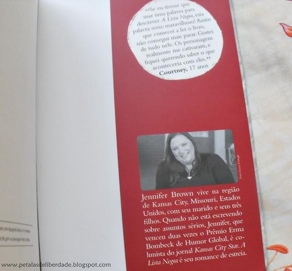 Resenha, livro, A Lista Negra, Jennifer Brown, Gutenberg, quotes, trechos, bullying, atentado, escolas, EUA