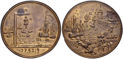 Hanover Medal Toulon Defeat