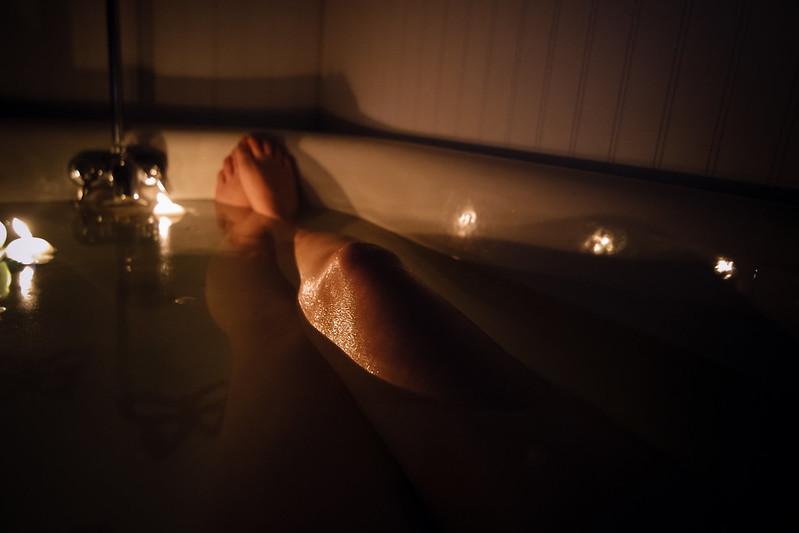 bath candles.