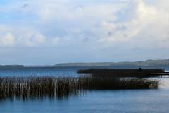 25th September 2016. Angler on Lough Derg at Craglea, County Clare, Ireland.