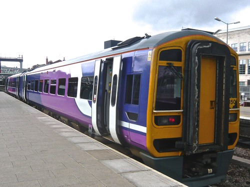 Class 158 850 'Northern Rail' Diesel Multiple Unit on 'Dennis Basford's railsroadsrunways.blogspot.co.uk'