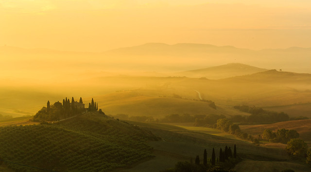 Val d'Orcia, Canon EOS 6D, Canon EF 70-300mm f/4-5.6 IS USM