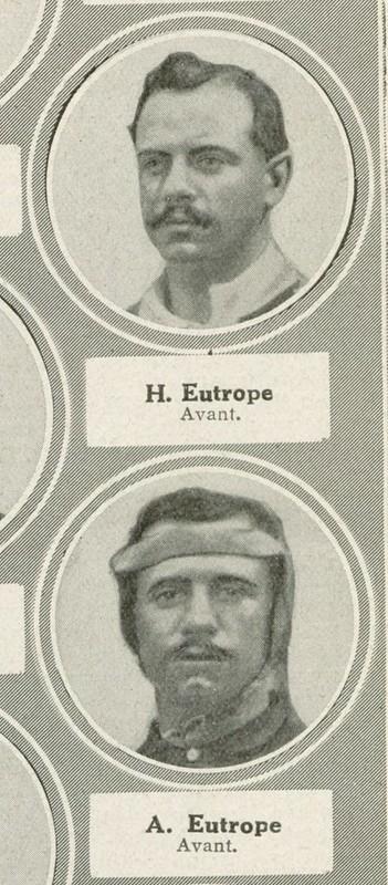 Adalbert en haut et Albert en bas