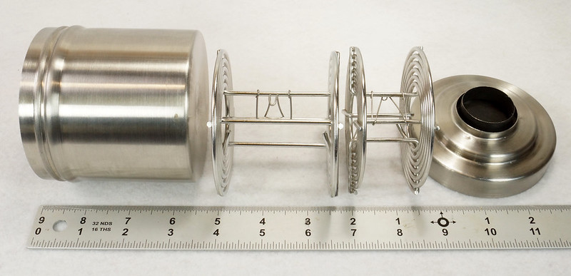 RD14949 Vintage Nikor Stainless Steel Film Developing Tank for 120-620 Film + 2 Reels DSC06703