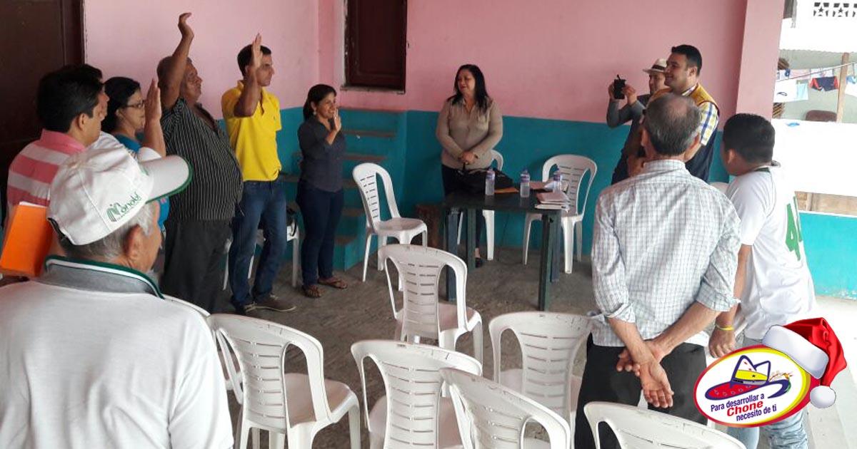 Entrega de personería jurídica y elección de Cabildo 2017 Comuna San Pablo de Tarugo