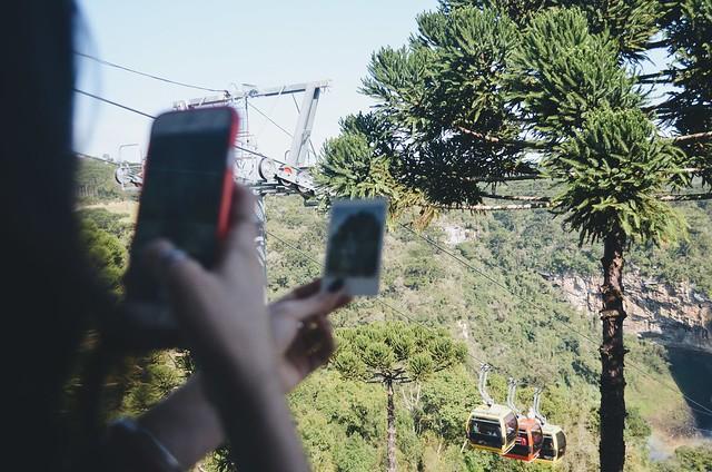 Mirante dos Bondinhos Aéreos, Canela - RS {agosto 2015}