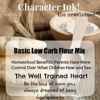 Character Ink Newsletter no. 12