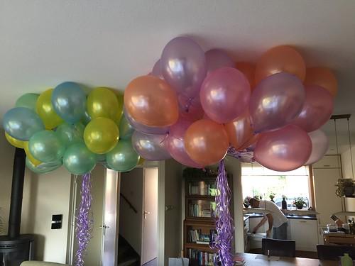 Heliumballonnen Pasteltinten