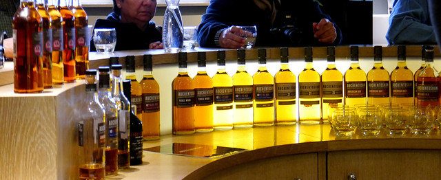 photo - Tasting Room, Auchentoshan Distillery