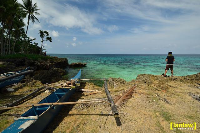 Fishing at Laguban
