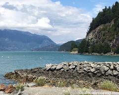 Views of Porteau Cove BC