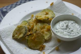 zucchini beignets
