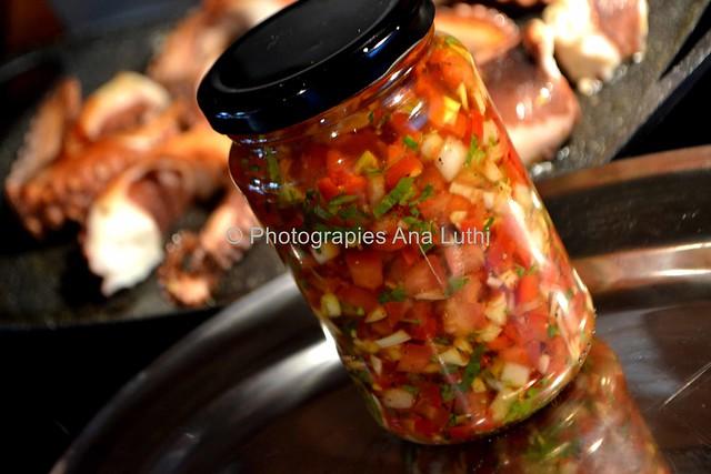 Poulpe à la Plancha aux Petits Légumes © Ana Luthi Tous droits réservés 6