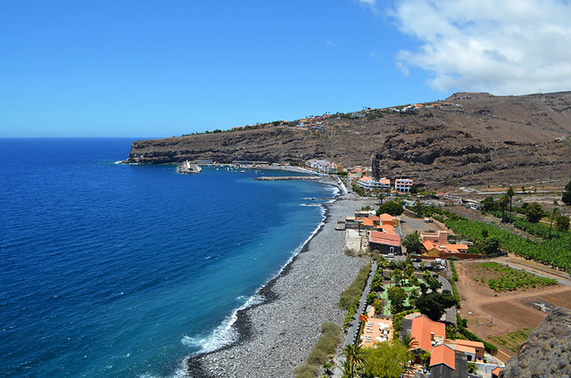 Base for In the Heart of the Sea, Playa Santiago, La Gomera