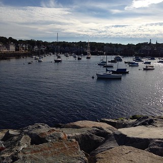 Beautiful day in Rockport today.  #newenglandlife