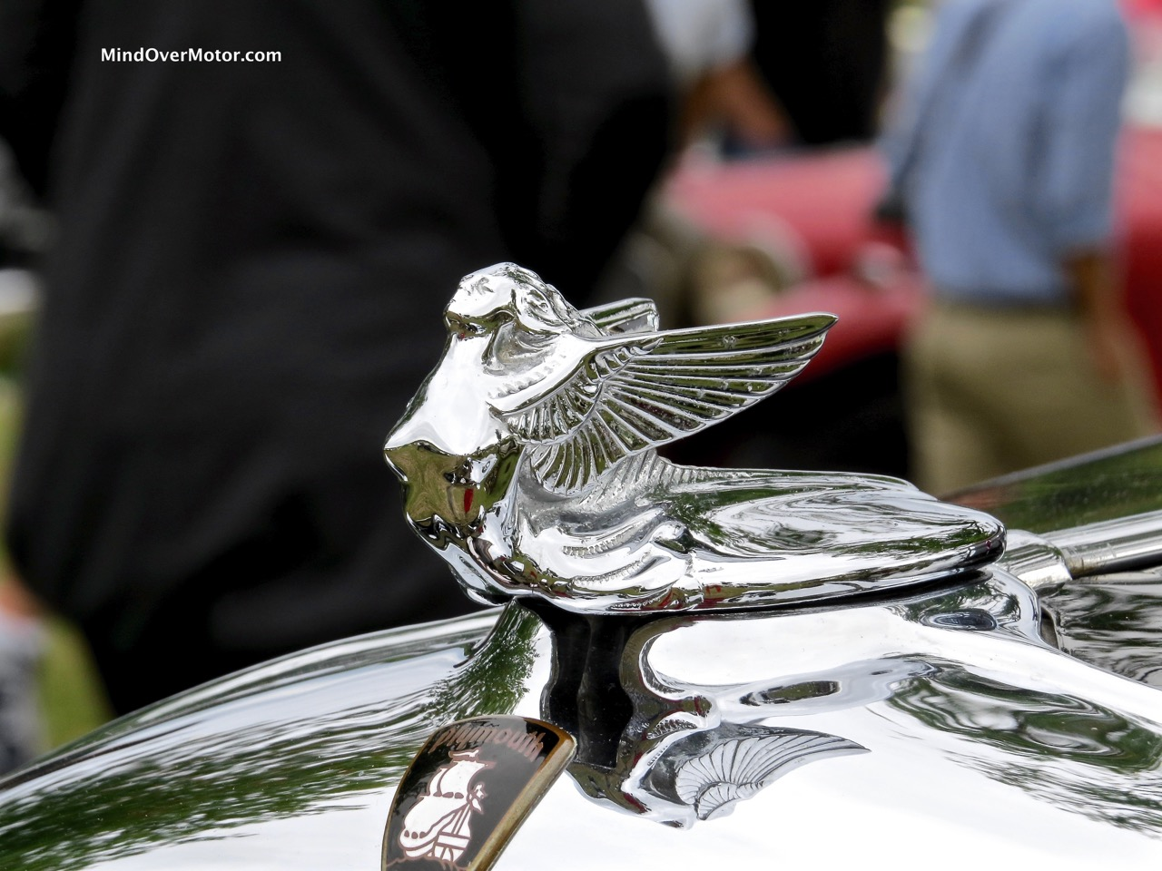1932 Plymouth P8 Roadster Hood Ornament