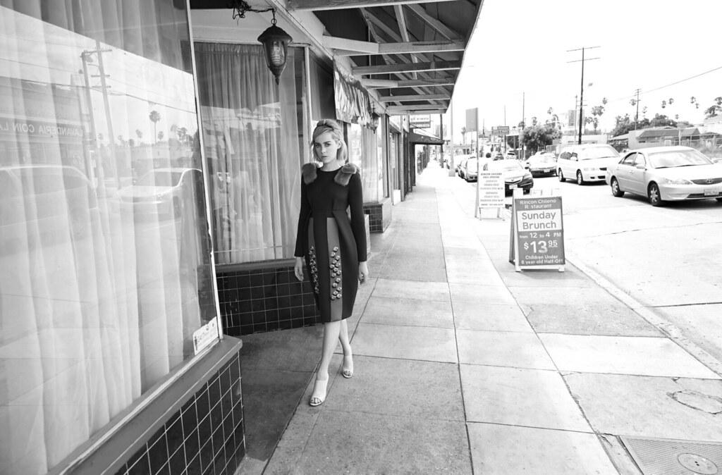 Джена Мэлоун — Фотосессия для «Glass» 2015 – 2