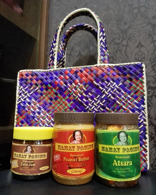 Thank you very much po for these, tita @alwaystina! Nanay Pacing's Atchara, Coco Jam and Peanut Butter from Aurora! Perfect for Christmas so order TODAY!   #igdaily #igersph #instagramhub #mine #like #follow #l4l #instagramlove #tagsforlikes #love #instad