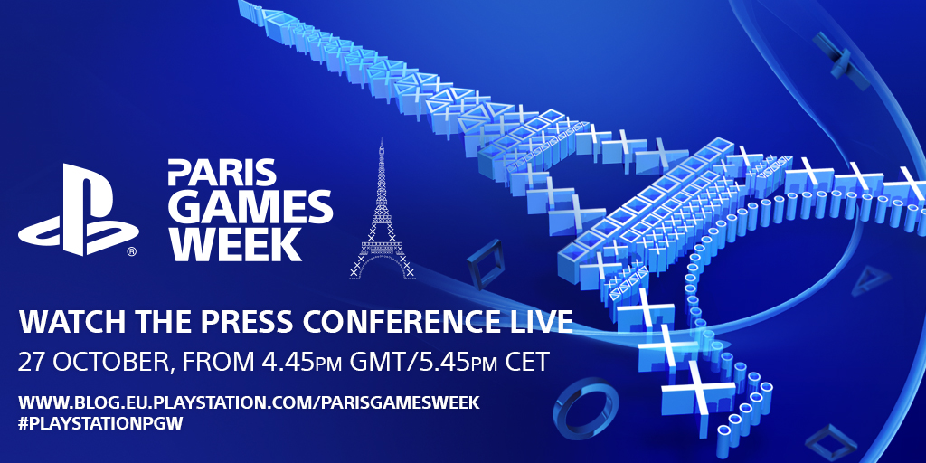 Пресс-конференция PlayStation на Paris Games Week
