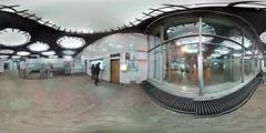 Moscow metro Shabolovskaya station building repair 360