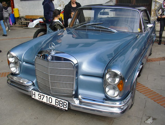 MERCEDES-BENZ 250 SE AUTOMATIC