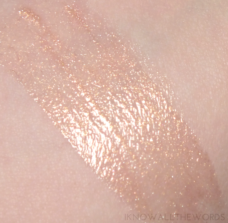 Sleek Makeup 24 K Gold Collection Glitter Me Intense Sparkling Lip Gloss in Money Talks (2)
