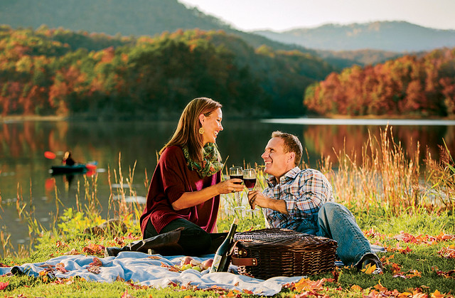 Picnic in Virginia's Blue Ridge
