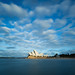 Opera House and Clouds by Tom Beecroft