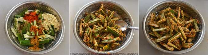 How to make Kurkuri Bhindi Recipe - Step2