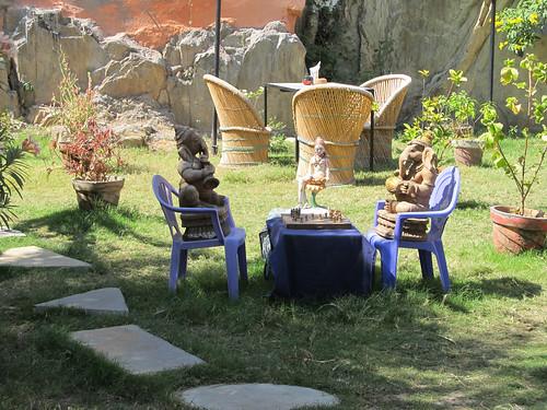 Udaipur: de l'autre côté de la rive, Ganesh joue aux échecs
