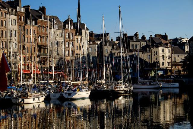 Normandie (France) - Honfleur Vieux Bassin