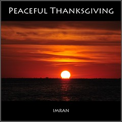 Peaceful Thanksgiving, Justice For All - IMRAN™