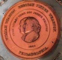 Joseph Wharton medal obverse