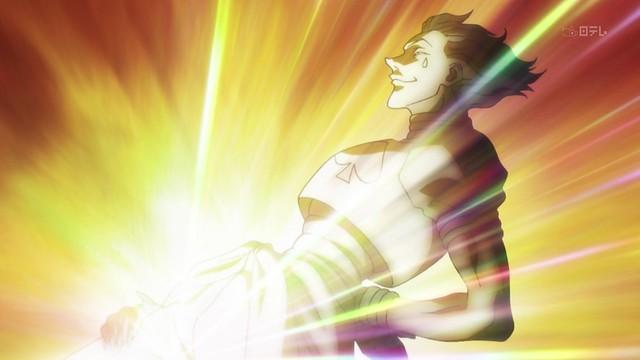 『世界上唯一的光!』《獵人》西索 【特殊登場】的模樣再現!