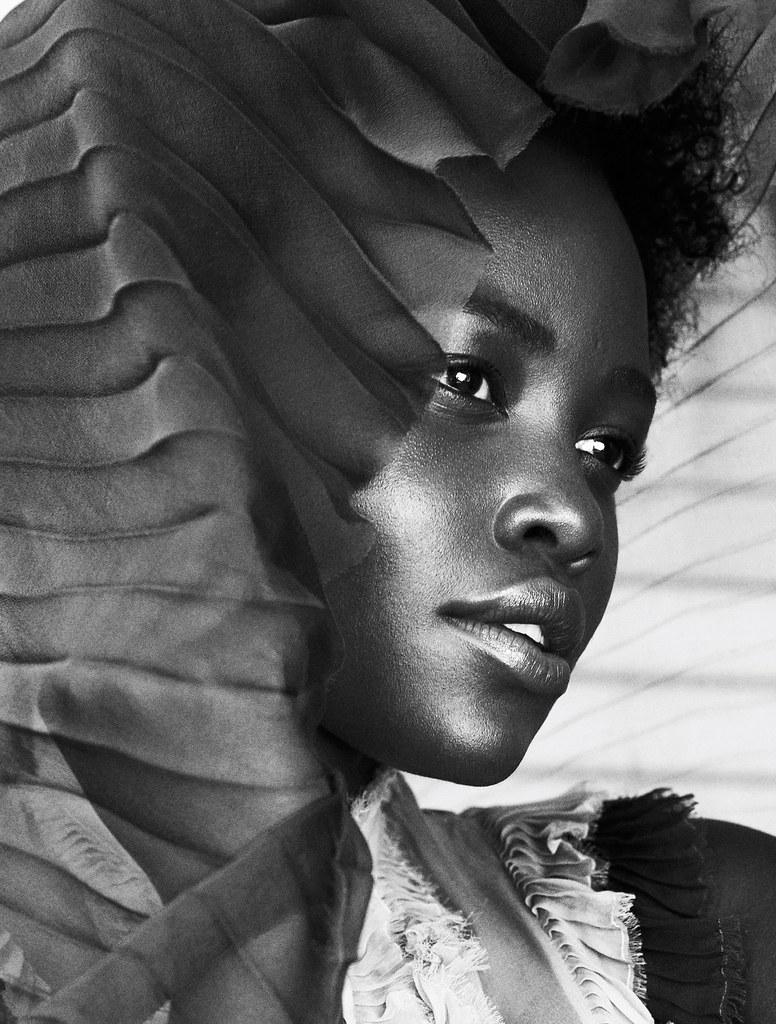 Люпита Нионго — Фотосессия для «Elle» UK 2015 – 2