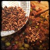 #homemade #caponata #caponatina #CucinaDelloZio - add the toasted pine nuts (pignoli)