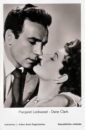 Margaret Lockwood and Dane Clark in Highly Dangerous (1950)
