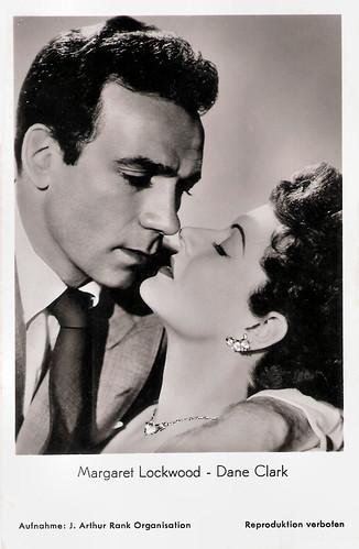 Margaret Lockwood and Dane Clark in Highly Dangerous (1950)