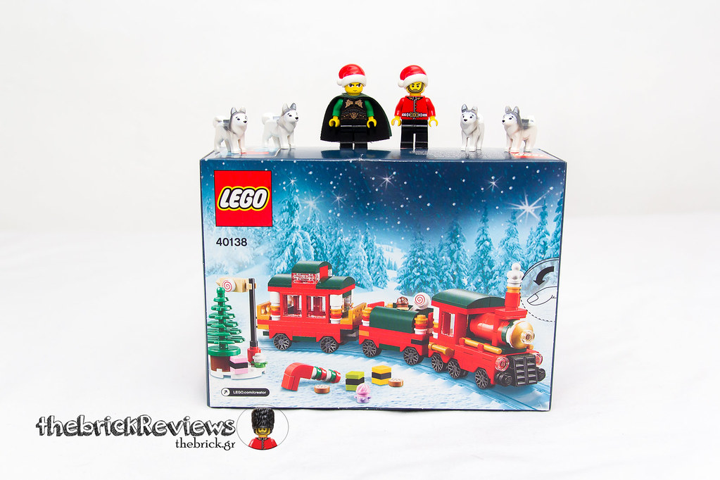 ThebrickReview: Christmas Train - 40138 - Limited Edition 2015 23610547232_1313c99d01_b
