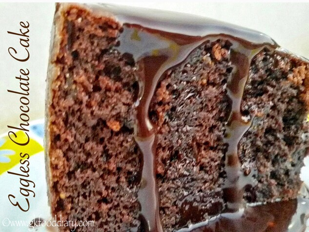 Egg-less Chocolate Cake Recipe for Kids