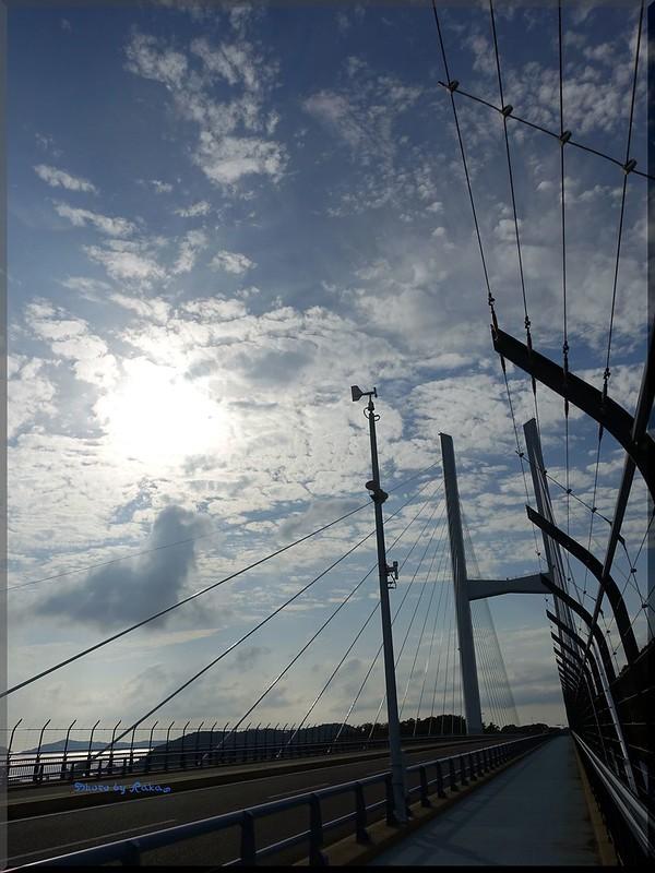 Photo:2015-09-06_T@ka.'s Life Log Book_女神大橋でフォトウォーク 海と橋と太陽と【長崎】_08 By:logtaka