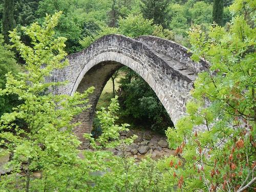 griechenland greece steinbrücke brücke stonebridge