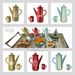 Coffee Pots 3D Models