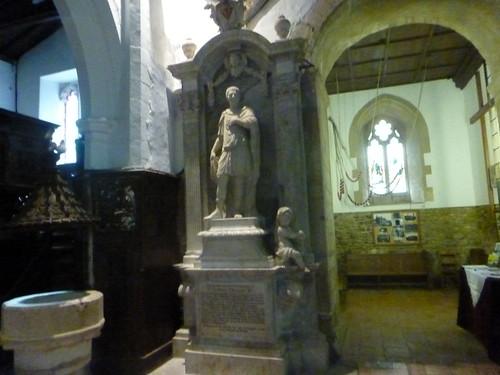 Interior Abbey Church of St Leonard