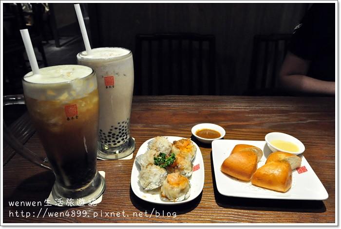 【林口三井outlet美食】春水堂~與朋友歡聚的好地方,珍珠奶茶超大一杯