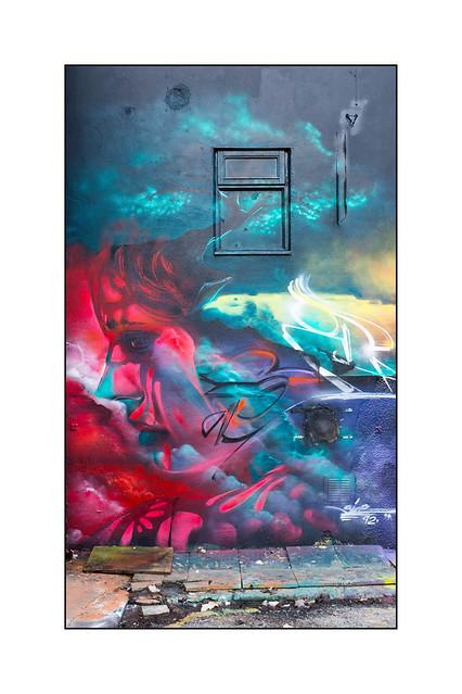 Street Art (Size 92), North London, England.