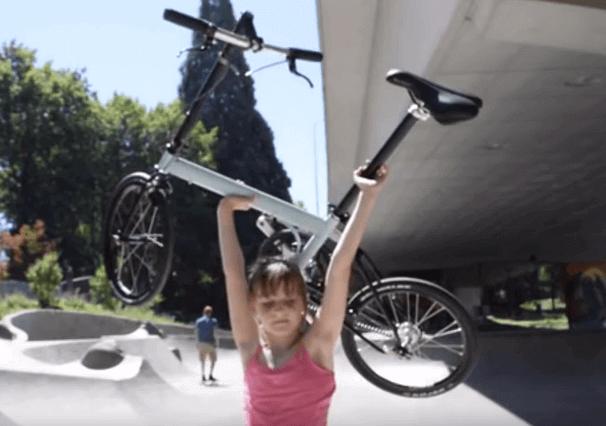 Bicicleta Eléctrica liviana y facil de usar