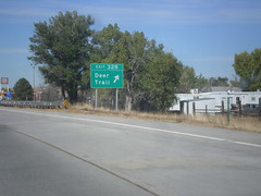 I-70 West - Exit 328